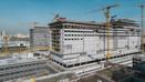 Başakşehir Şehir Hastanesi inşaatı hızla yükseliyo