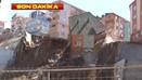 Kağıthane'de 3 katlı bina çöktü