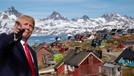 Grönland'a photoshopla Trump binası dikildi