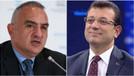 Kültür Bakanı Ersoy İmamoğlu'ndan rica etti!