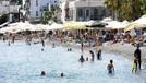 Avrupalı turist Bodrum'a geri döndü