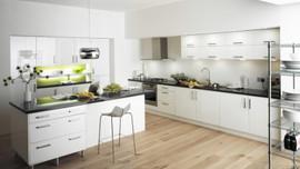 Mutfaklarda beyaz dekorasyon esintisi
