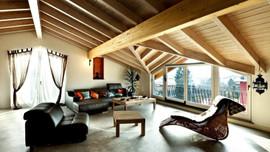 İşte birbirinden iddialı çatı katı dekorasyonları