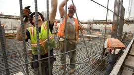 Mevcut inşaat işlerinde 2,3 puanlık artış