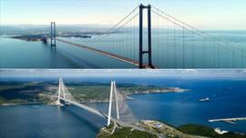 İki dev köprü bugün birbirine bağlanıyor