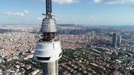 Çamlıca Kulesi'nde o katların montajı tamamlandı!