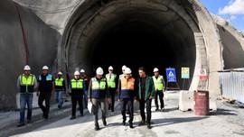 Zigana Tüneli'nin yüzde 60'ı tamamlandı