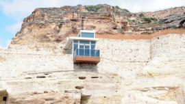 Kapadokya'da tepki çeken asansör kaldırıldı