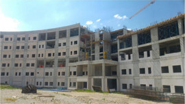 Mamak Devlet Hastanesi'nin inşaatı durdu