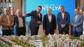 Sur Yapı Antalya'ya uluslararası ziyaret