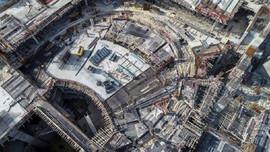 Yeni AKM binasının kaba inşaatı yarılandı!