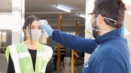 Şantiyelerde koronavirüs tedbirleri artırıldı!