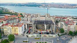 Yeni AKM binasının kaba inşaatı tamamlandı