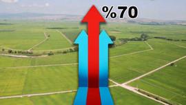 Arsa fiyatları en çok o illerde arttı
