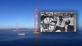 Çanakkale Köprüsü'nde Seyit Onbaşı'nın mermisi