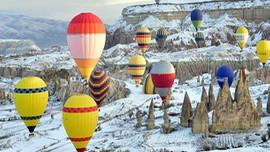Kapadokya'yı bir de kışın görün!