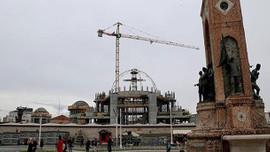 Taksim'de yeni bir siluet ortaya çıkıyor