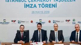 DAP Yapı Çekmeköy için imzayı attı