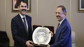 Murat Kurum görevi devraldı