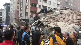 Kartal'da 7 katlı bina çöktü! 3 ölü, 12 yaralı