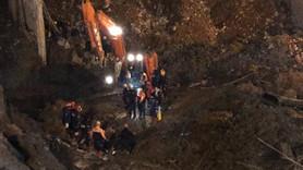 Göçük altında kalan işçinin cesedi bulundu