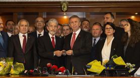 Ankara Belediyesi'nde devir teslim gerçekleşti