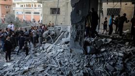Gazze'de 130 konut kullanılamaz hale geldi