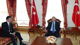 Erdoğan ile Barzani arasında görüşme