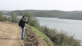 Alibeyköy Barajı'nda denetim yapıldı
