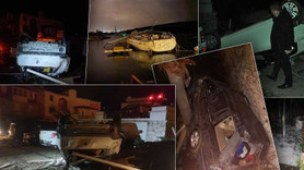 İzmir'de hortum ve dolu! 16 yaralı