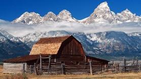 En güzel dağ evleri!