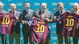 Beko Barça'ya 'sol'dan girdi