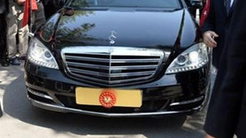 Erdoğan'ın yeni makam otomobili