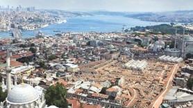 Eminönü'nde tarihi han değişimi