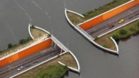 Hollanda'da fizik yasalarını alt üst eden yol