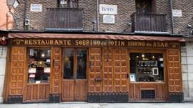 Dünyanın en eski restoranı Madrid'te!