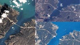 İşte uzaydan görünen 3. Köprü