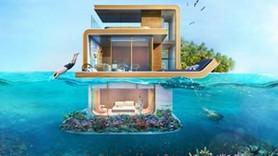 Dubai'nin yüzen evleri gün yüzüne çıktı! İşte rüya evler