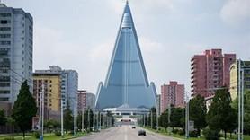Bomboş bir şehir ve dev binalar! Burası Kuzey Kore