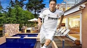 Mesut Özil'in milyonluk sarayı!
