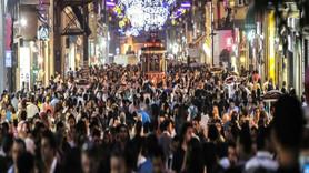 Taksim'deki oteller doldu taştı