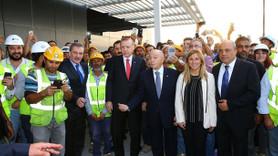 Erdoğan Kuveyt Havalimanı'nı inceledi!