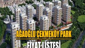 Ağaoğlu Çekmeköy Park fiyat listesi