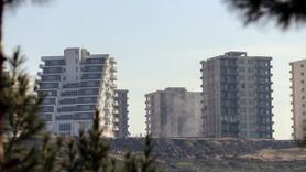Diyarbakır'daki 725 lüks konutun yıkımına başlandı