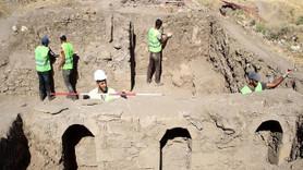 Yer altındaki 450 yıllık tarih gün yüzüne çıkıyor