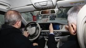 Kasımpaşa Tüneli'nde ilk sürüş Erdoğan ve Yıldırım'dan