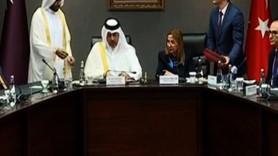 Katar ile dev anlaşma! İmzalar atıldı