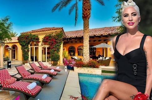 Lady Gaga, muhteşem eviyle hayran bıraktı!