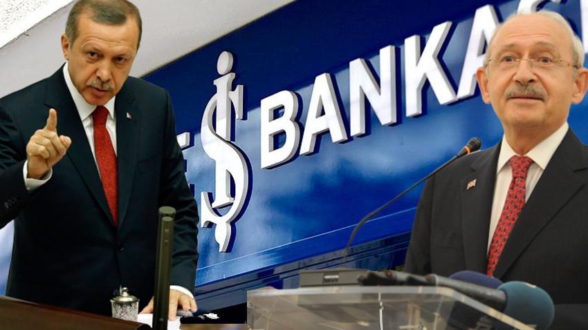 CHP'nin İş Bankası hisseleri hazineye geçiyor!