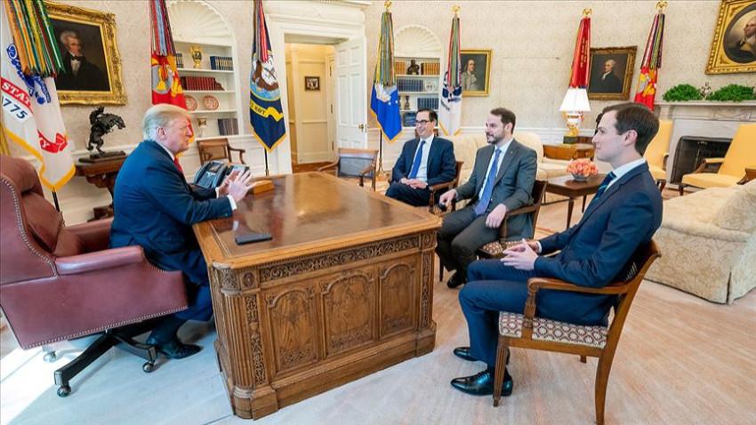 Albayrak Beyaz Saray'da Trump'la görüştü